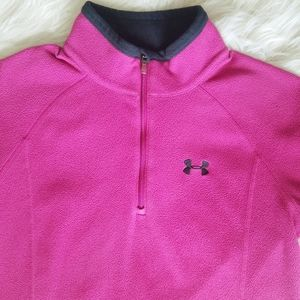Under Armour Fleece 1/4 Zip Sweater Size-Small